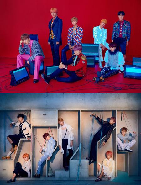 韓国アイドルグループ「防弾少年団(BTS)」がリパッケージアルバムのコンセプトフォトを公開した。(提供:news1)