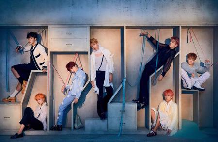 """韓国アイドルグループ「防弾少年団(BTS)」が米国レコード産業協会から3回目の""""ゴールド""""認定を受ける快挙を成し遂げた。(提供:OSEN)"""