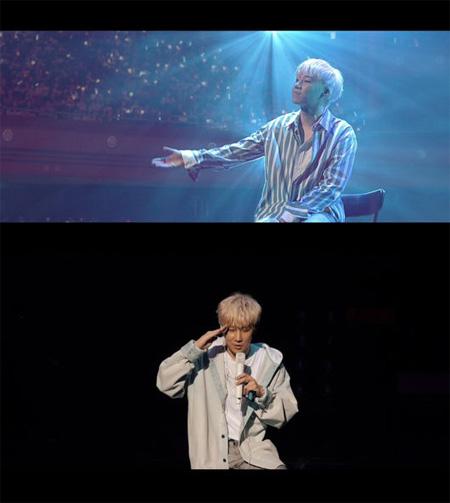 韓国アイドルグループ「INFINITE」ソンギュがライブ映像が収められたティザー映像をサプライズ公開した。(提供:OSEN)