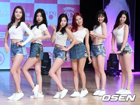 韓国ガールズグループ「BERRY GOOD」が、「本当に最後のような気持ちで準備したアルバムだ」と紹介した。(提供:OSEN)