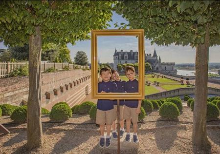 韓国俳優ソン・イルグク(46)が、さらに成長した三つ子の息子たちの近況を公開した。(提供:news1)