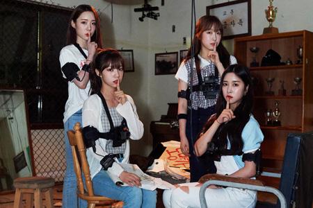韓国ガールズグループ「宇宙少女」がKBS新パイロットバラエティ番組「都市伝説」に合流する。(提供:news1)