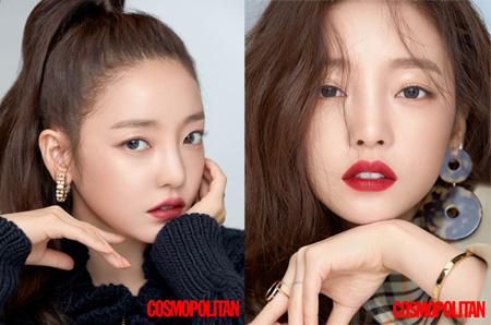 韓国歌手兼女優ク・ハラの画報がファッション誌「COSMOPOLITAN」9月号を通じて公開された。(提供:OSEN)