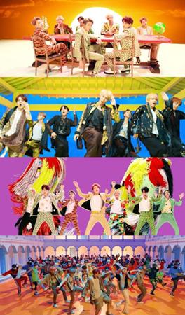 韓国ボーイズグループ「防弾少年団」が24日午後6時、公式YouTubeチャンネルでリパッケージアルバム「LOVE YOURSELF 結 'Answer'」のタイトル曲「IDOL」のMVを公開した。(提供:news1)