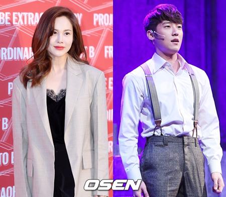 韓国歌手IVY(35)とミュージカル俳優コ・ウンソン(27)が破局した。(提供:OSEN)