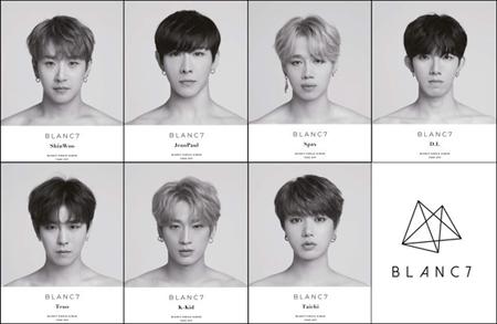 韓国ボーイズグループ「BLANC7」(ブランセブン)の7人7色コンセプトのティーザーイメージが公開された。(写真提供:ジャックポットエンタテインメント)