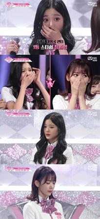 韓国Mnet「PRODUCE 48」ではデビューする最終メンバーが発表された。(提供:OSEN)
