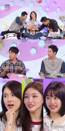 韓国ガールズグループ「AFTERSCHOOL」の元メンバーのカヒが、第2子出産後70日でトーク番組に出演した。(提供:OSEN