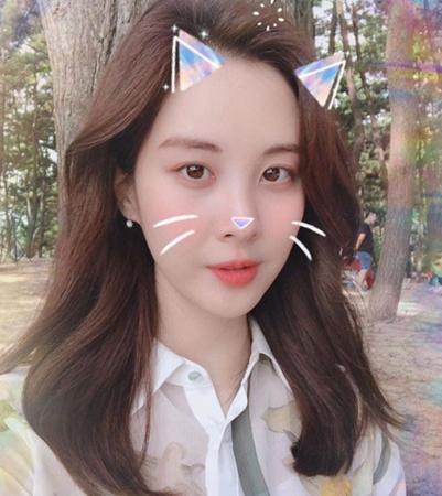 韓国女優ソヒョン(少女時代)が、かわいらしい写真を公開した。(提供:news1)