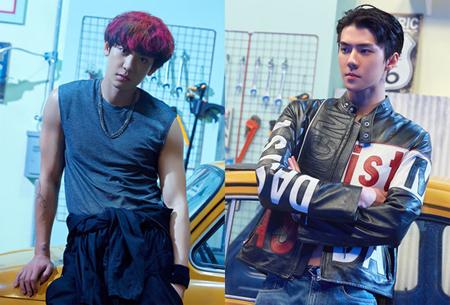 「EXO」初のデュオCHANYEOL&SEHUN、新曲「We Young」発表(提供:OSEN)