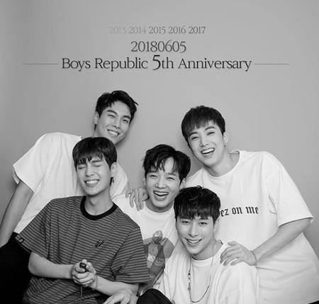「Boys Republic」、デビュー5年で無期限の活動中断へ(提供:OSEN)