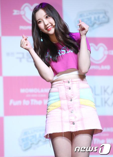 韓国ガールズグループ「MOMOLAND」ナユンが10月から韓国活動に再び合流することがわかった。(提供:news1)