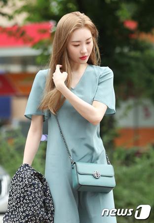 めまいを訴えた韓国歌手ソンミ(元Wonder Girls)が、週末まで休むことになった。(提供:news1)