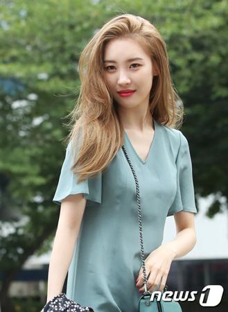 韓国歌手ソンミ(元Wonder Girls)が、回復した。(提供:news1)