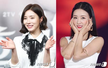 韓国女優シン・セギョンと、ガールズグループ「Apink」メンバーのボミが隠しカメラを仕掛けられる被害に遭った。(提供:news1)
