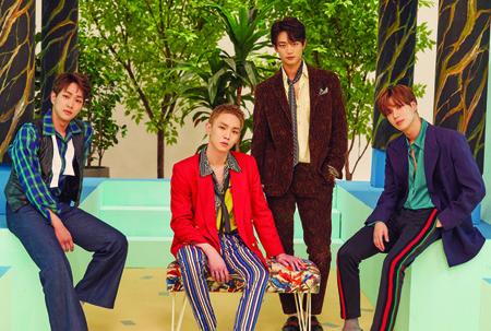 「SHINee」の6th合本アルバム、gaonアルバム総合チャートで1位を獲得! (提供:news1)