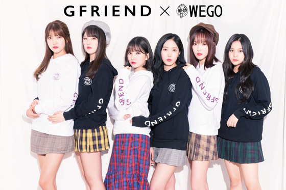 韓国6人組ガールズグループ「GFRIEND」が、10月10日(水)発売のJAPAN 1st SINGLE「Memoria / 夜(Time for the moon night)」発売に向けて、様々なブランドとコラボレーションをする事となった。(オフィシャル)