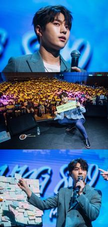 韓国ボーイズグループ「INFINITE」メンバーで俳優としても活躍しているエル(キム・ミョンス)が、台湾での単独ファンミーティングを大盛況で終えた。(提供:OSEN)