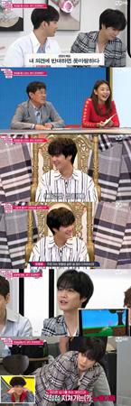 """韓国ボーイズグループ「NU'EST W」のJRが、""""オッサン""""度の高さが認められた。(提供:news1)"""