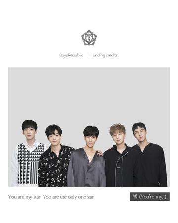 デビュー5年の韓国ボーイズグループ「Boys Republic」が、28日に最後のシングルアルバム「Ending credit」を発売した。(提供:OSEN)
