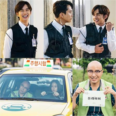 韓国俳優ユ・スンホとタレントのホン・ソクチョンが、新ドラマ「Player」第1話に特別出演する。(提供:OSEN)