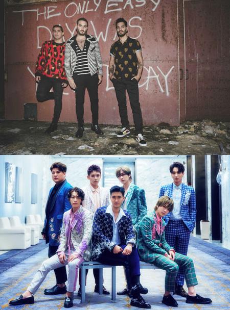 """""""韓流キング""""「SUPER JUNIOR」、南米トップバンド「REIK」と新曲コラボ! (提供:OSEN)"""