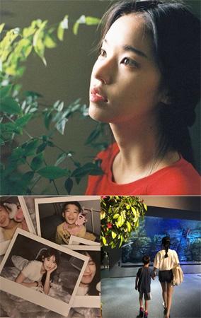 最近7歳の息子を電撃公開した女優パク・ファニ、独歩的な清純美が話題(提供:news1)
