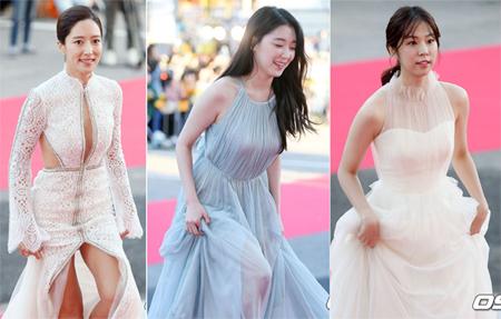 ワン・ピンナ&ソ・ウンス&チョ・ウリ、「KOREA DRAMA AWARDS」を華やかに演出した女優陣のドレス姿(オフィシャル)