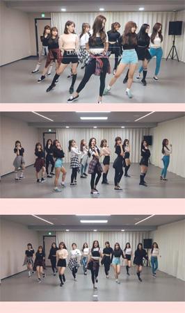 """「IZONE」、「PICK ME」12人バージョンのダンス映像公開…デビューに向け""""異常なし""""(提供:OSEN)"""