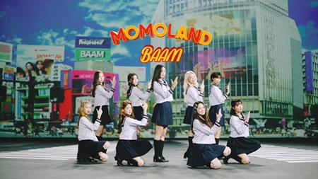 「MOMOLAND」、新曲「BAAM -Japanese ver.-」のMV公開…舞台は日本! 韓国verは1億ビュー超え(オフィシャル)