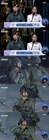 現在、軍服務中にある韓国歌手兼俳優のイム・シワン(ZE:A)が、完ぺきなビジュアルを見せて話題を呼んでいる。(写真提供:OSEN)