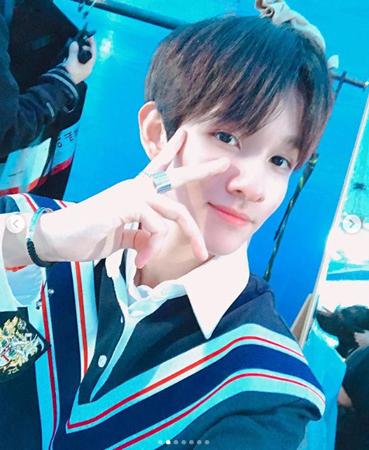 韓国歌手サムエルが、ハングルの日にハングルの衣装を着た姿を公開した。(提供:OSEN)