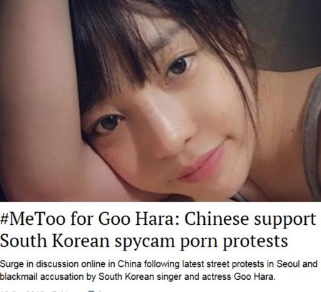 中国ネットユーザーら、ク・ハラ(KARA)を応援…その理由は? (提供:news1)