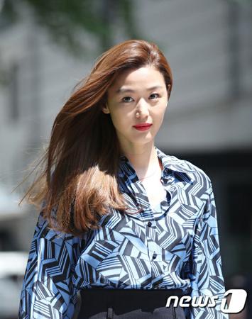韓国女優チョン・ジヒョンが、ドラマ復帰を検討中だという。(写真提供:news1)