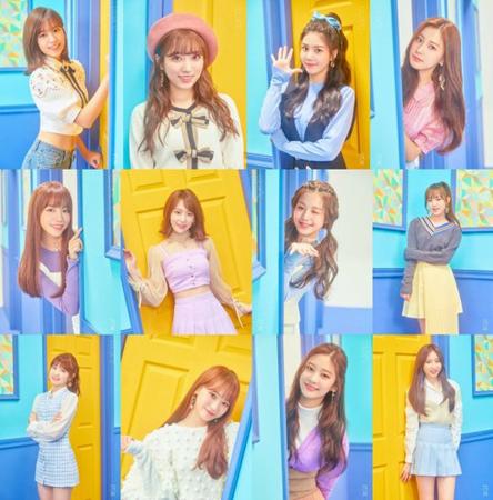 Mnetのアイドル育成番組「PRODUCE48」より誕生したプロジェクトガールズグループ「IZ*ONE」が10月29日に正式デビューを飾ることが確定した。(写真提供:OSEN)