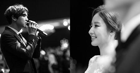 韓国YTVのパク・ユラアナウンサーが13日午後、ソウル某所にて3歳上のマスコミに従事するホン氏と結婚式を挙げた。(写真提供:OSEN)
