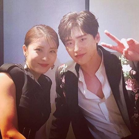 俳優イ・ジョンソク、ドラマ共演のハ・ジウォンに尊敬の念 「僕にとって大きな人」(画像:イ・ジョンソクSNS)