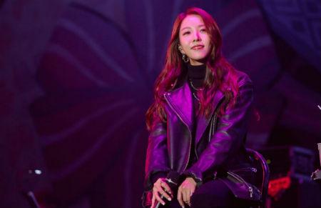 BoAがソウル・オリンピック公園で行われた秋のミュージックフェスティバル「Grand Mint Festival 2018」の初日公演を華やかに飾った。(提供:OSEN)