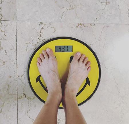 """イドン(PENTAGON)と熱愛中""""ヒョナ、突然の体重公開 「43.1キロ」(画像:ヒョナInstagram)"""