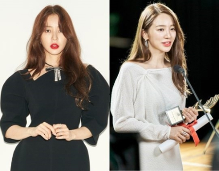韓国新ドラマ「ときめき注意報」でトップスターのユン・ユジョンを演じる女優ユン・ウネのスチールカットが公開された。(写真提供:OSEN)