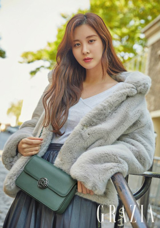 「少女時代」のメンバーで女優のソヒョンが主演をつとめたドラマ「時間」への出演で得たものについて語った。(写真提供:OSEN)
