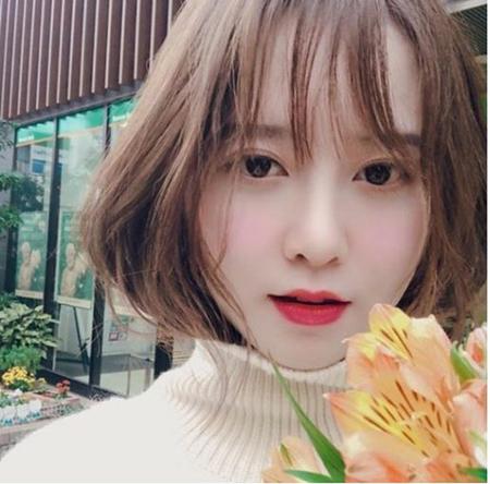 韓国女優ク・ヘソンが非現実的な美貌を公開した。(写真提供:OSEN)