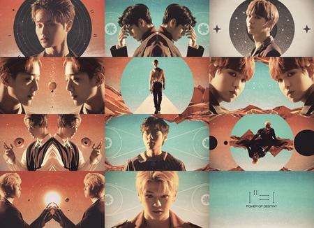 韓国ボーイズグループ「Wanna One」のニューアルバムのティザーイメージが、ミュージカル「ヘドウィグ」に類似していると騒動が起きた中、所属事務所側は著作権の観点で問題はないと立場を明らかにした。(提供:new