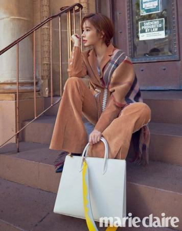 韓国女優ユ・インナが、作品を選択する基準を明かした。(写真提供:OSEN)