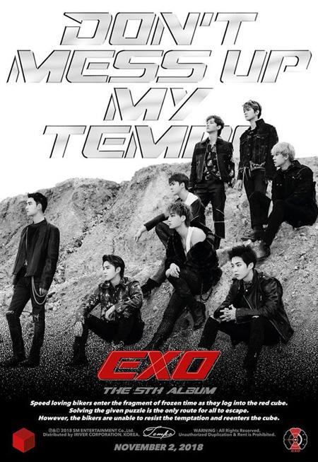 【公式】「EXO」、5thアルバム注文枚数110万枚を突破(画像:OSEN)