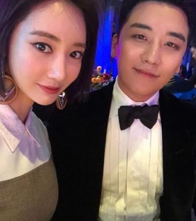 「BIGBANG」V.Iが、女優コ・ジュンヒとの特別な関係を公開した。(写真提供:OSEN)