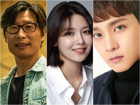 韓国俳優チェ・テジュン、ガールグループ「少女時代」メンバーで女優としても活躍しているスヨン、大ヒット映画「暗数殺人」のキム・テギュン監督が、2019バリアフリー映画広報大使に選ばれた。(提供:news1)