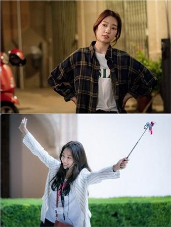 新ドラマ「アルハンブラ宮殿の思い出」に出演する韓国女優パク・シネのスチールカットが初めて公開された。(写真提供:OSEN)