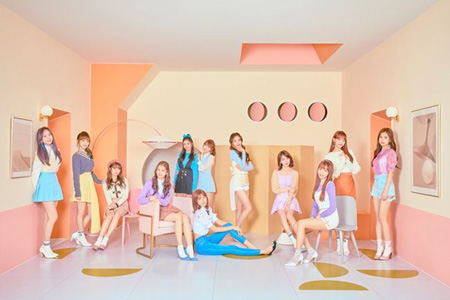 「IZ*ONE」、成功的なデビュー初週=10か国のK-POPチャート1位&MV再生回数1300万回突破! (提供:OSEN)