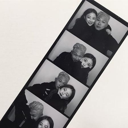 韓国ラッパーのSwings&モデルのイム・ボラのカップル写真が話題になっている。(写真提供:OSEN)